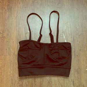 Capezio Black Bralette S (runs small)